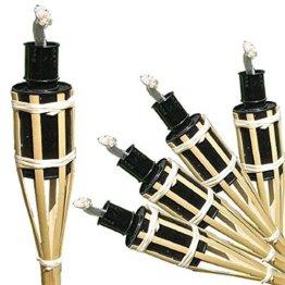 Gartenfackeln a. Bambus