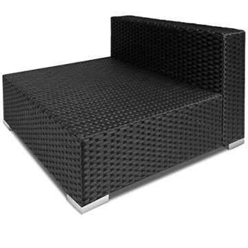 li il 16tlg polyrattan lounge set xxl sitzkissen. Black Bedroom Furniture Sets. Home Design Ideas