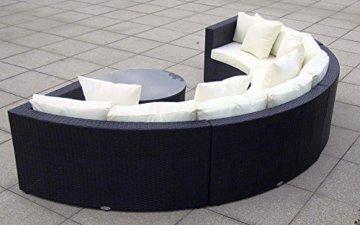 Baidani Rattan Garten Lounge Garnitur Skylounge