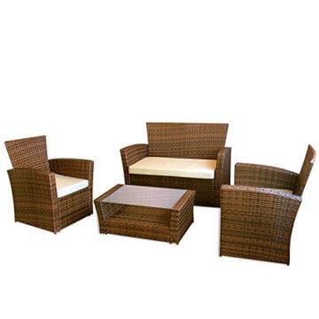 Möbel möbel braun gartenmöbel : ▷ lI❶Il Gartenmöbel Le Havre in braun II Garten Lounge von Jet ...