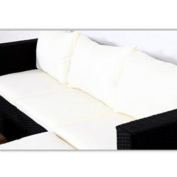 MALAGA Polyrattan Garten Lounge