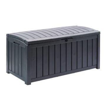 DEMA Auflagenbox Holzoptik Glenwood 390L