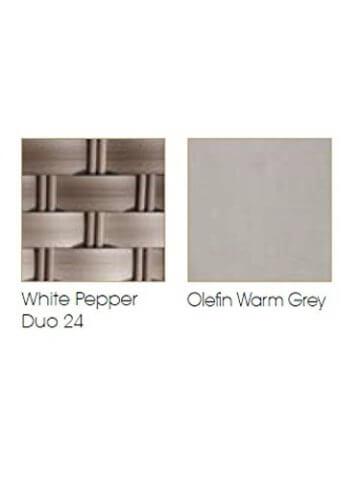 Liegeinsel Mahon Lounge White Pepper Duo 24 - 4
