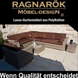 PolyRattan Lounge Garten Möbel Ragnarök Möbeldesign
