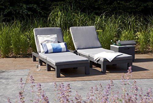 Garten Lounge Liege  einfach Relaxen und Entspannen Modell