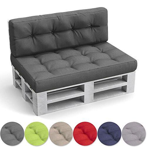 li il oskar palettenkissen set sitz und r ckenkissen. Black Bedroom Furniture Sets. Home Design Ideas