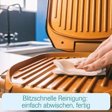 Livington Low Fat Grill   Tischgrill   Kontaktgrill   elektrisch   Indoor-Elektro-Griller   Abtropfschale   Keramikbeschichtung   antihaft, rauchfrei   BBQ Party   Das Original aus dem TV - 7