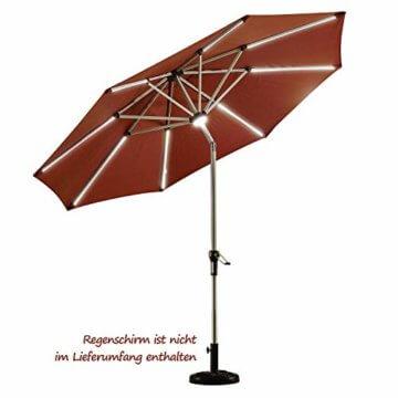 PURPLE LEAF 27 kg Sonnenschirmständer, Quadratisch Schirmständer, umweltfreundliches PE-Gewebe, gefüllt mit Beton - 5