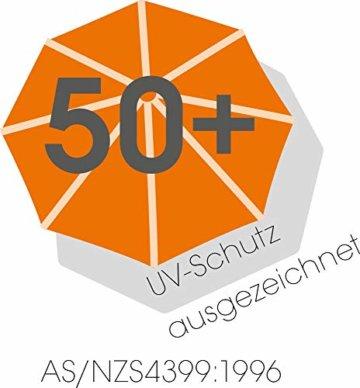 Schneider Rhodos Grande Sonnenschirm, rechteckig, sand, 400x300cm  - 14