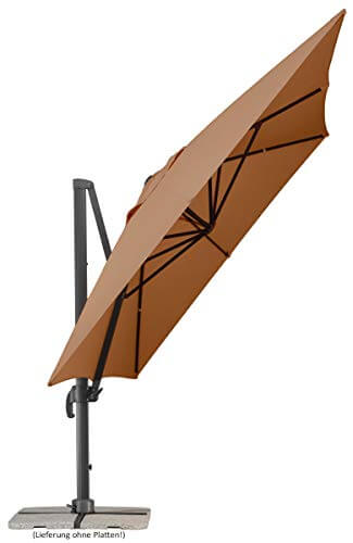 Schneider Rhodos Grande Sonnenschirm, rechteckig, sand, 400x300cm  - 4