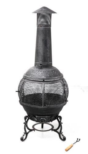 Tepro Feuerstelle Feuerofen Gußeisen Jacksonville, Mehrfarbig - 1