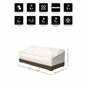 Amazon Basics Abdeckung für 3-Sitzer-Sofamodell Griffen - 7