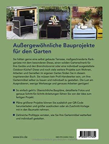 Gartenmöbel zum Selberbauen: Draußen wohnen, kochen, leben - 7