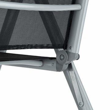 TecTake Aluminium Sitzgarnitur 8+1 Sitzgruppe Gartenmöbel Tisch & Stuhl-Set - Diverse Farben - (Silber Grau   Nr. 402165) - 4