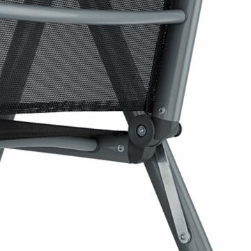 TecTake Aluminium Sitzgarnitur 8+1 Sitzgruppe Gartenmöbel Tisch & Stuhl-Set - Diverse Farben - (Dunkelgrau | Nr. 402164) - 6