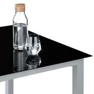 TecTake Aluminium Sitzgarnitur 8+1 Sitzgruppe Gartenmöbel Tisch & Stuhl-Set - Diverse Farben - (Silber Grau   Nr. 402165) - 3